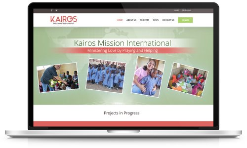 Kairos Mission - Website Design