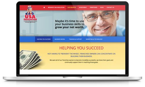 USA Insulation - Website Design